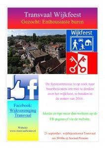 Wijkfeest 2016