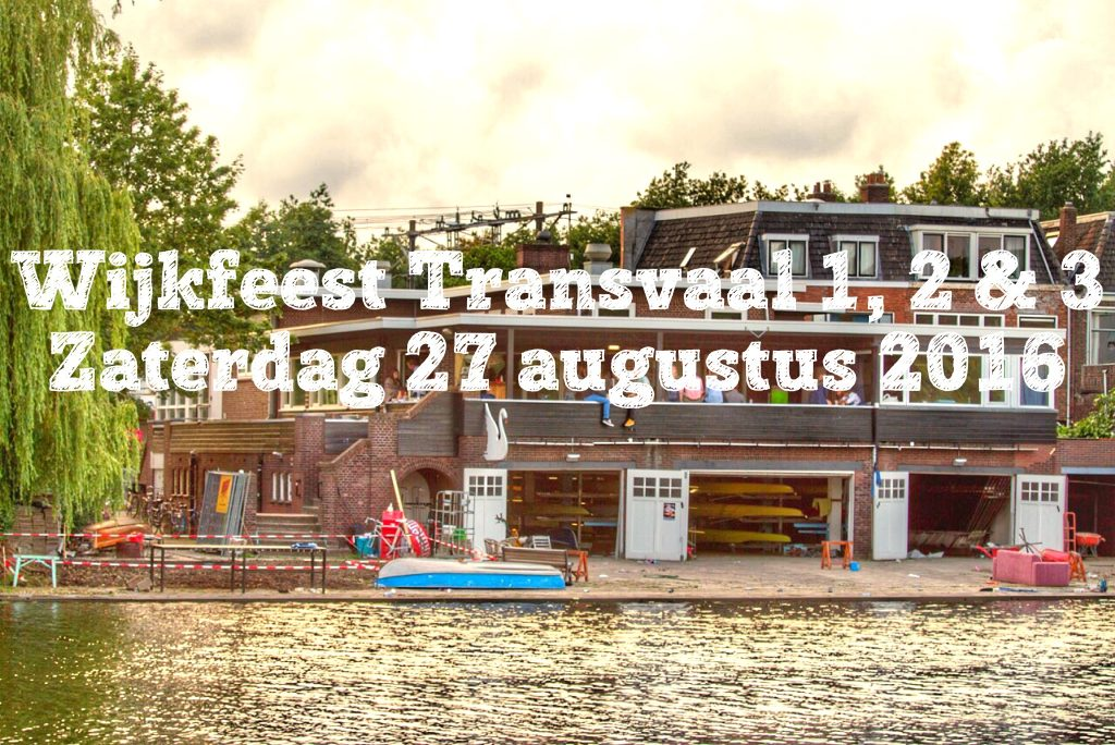 Wijkfeest Transvaal 2016